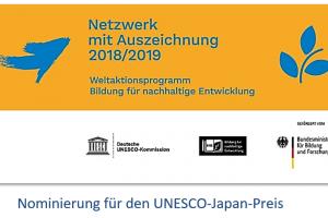 Nominierung UNESCO Japan Preis