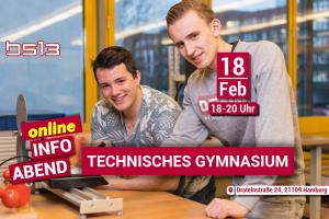 technische Gymnasium online infotermin